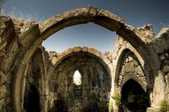 Руины скита Tsakhats Kar, Армении Стоковое Изображение RF
