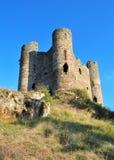 Руины средневекового замка Стоковые Изображения RF