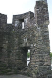 Руины средневековой древней крепости, Маастрихта Часть стены 2 Стоковая Фотография RF