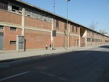 Руины стальных изделий Ferrero в Settimo Torinese стоковые фото