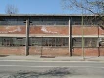 Руины стальных изделий Ferrero в Settimo Torinese стоковая фотография rf