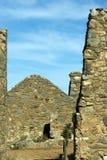 Руины станции Kanyaka, ряды щепок, южная Австралия стоковое изображение rf
