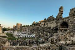 Руины старого города в Грузии стоковая фотография