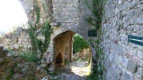 Руины старого города стоковые изображения