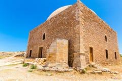 Руины старого городка в Rethymno, Крите, Греции. Стоковая Фотография RF