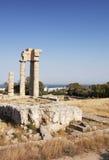 Руины старого грека Стоковое фото RF