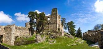 Руины старого замка Helfenburk Стоковое фото RF