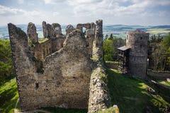 Руины старого замка Helfenburk Стоковая Фотография RF
