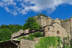 Руины старого замока. Стоковые Изображения RF
