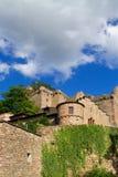 Руины старого замока. Стоковое фото RF