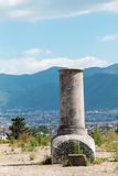 Руины старого Помпеи Италии Стоковое Изображение