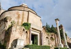 Руины старого Рима Стоковое Изображение RF