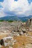 Руины старого римского театра Стоковое Изображение