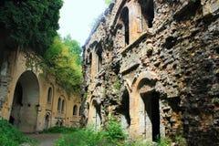 Руины старого форта Стоковая Фотография RF
