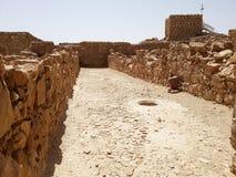 Руины старого Masada, южного района, Израиля стоковые фото