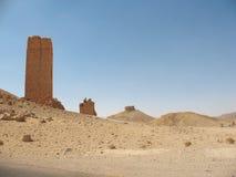 Руины стародедовского Palmyra стоковые изображения rf