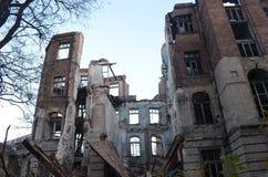 Руины старой больницы Стоковое фото RF