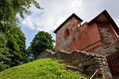 Руины старой крепости Стоковое Изображение RF