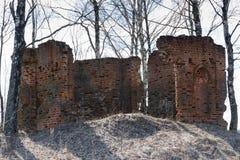 Руины старой часовни Стоковая Фотография RF