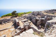 Руины стародедовского города Стоковое Изображение RF