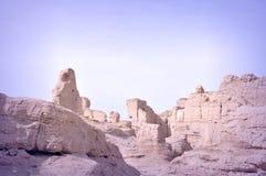Руины стародедовского города Стоковые Фото