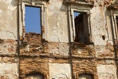 Руины стены Стоковое Изображение