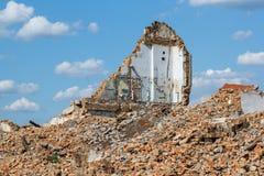 руины усадьбы Стоковое Фото