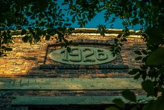 Руины фабрики Стоковая Фотография