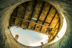 Руины фабрики Стоковые Изображения