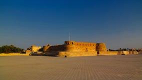 Руины форта Arad, Muharraq, Бахрейна Стоковые Изображения