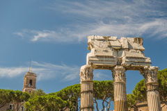 руины форума римские Стоковые Фото
