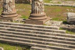руины форума римские Стоковое Изображение RF