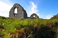 руины холма Стоковое фото RF