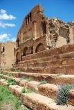 руины церков средневековые старые Стоковое Изображение