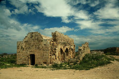 руины церков Стоковое Изображение