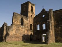 руины церков Стоковое фото RF