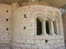 Руины церков St Nicholas стоковое фото rf