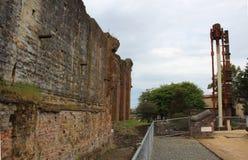 Руины шахты Beaconsfield Стоковое Изображение RF