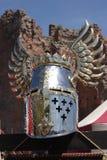 руины шлема крепости knightly Стоковое Изображение RF