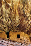 Руины, южный каньон осла, Юта Стоковое Фото