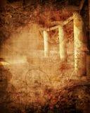 Руины иллюстрация штока