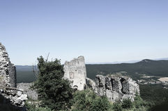 руины Стоковые Фотографии RF