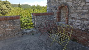 2 руины Стоковое фото RF