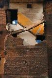 руины стоковая фотография