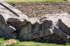 Руины Aksum (Axum), Эфиопии Стоковая Фотография RF