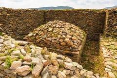 Руины Aksum (Axum), Эфиопии Стоковые Изображения
