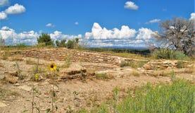 руины anasazi Стоковое Изображение