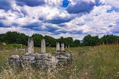 Руины Aphrodisias Стоковое фото RF