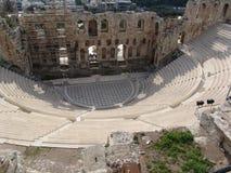 руины athens стоковое изображение rf