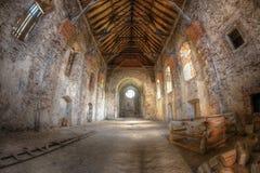 Руины Augustinian монастыря, Pivon, чехии стоковые фото